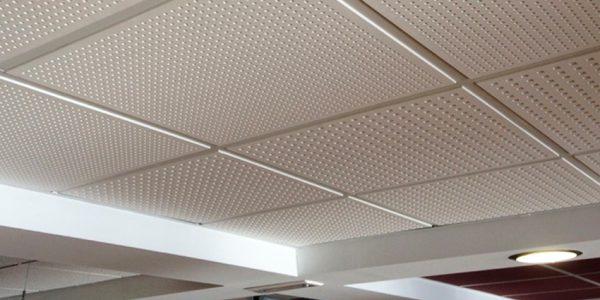 Instaladores de falsos techos de escayola aligerada