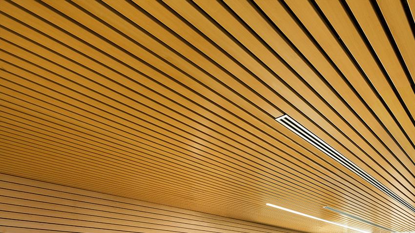 Instaladores de lamas de aluminio - Falsos techos registrables ...