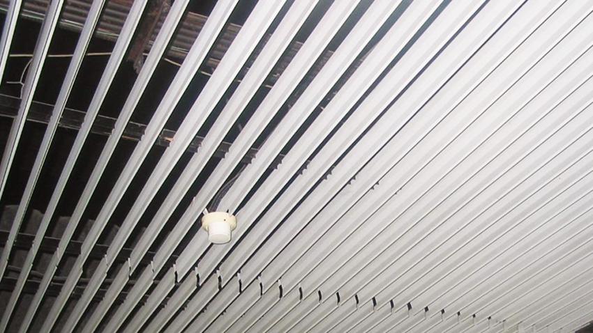 Falso techo aluminio interesting falsos techos aluminio - Falso techo aluminio ...