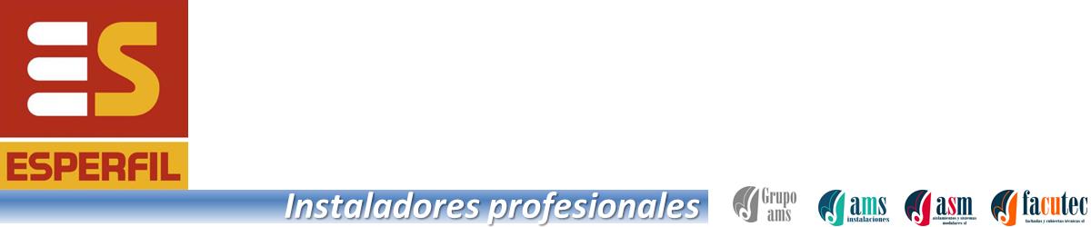 Instaladores profesionales de Esperfil en España