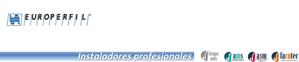 Instaladores profesionales de Europerfil en España