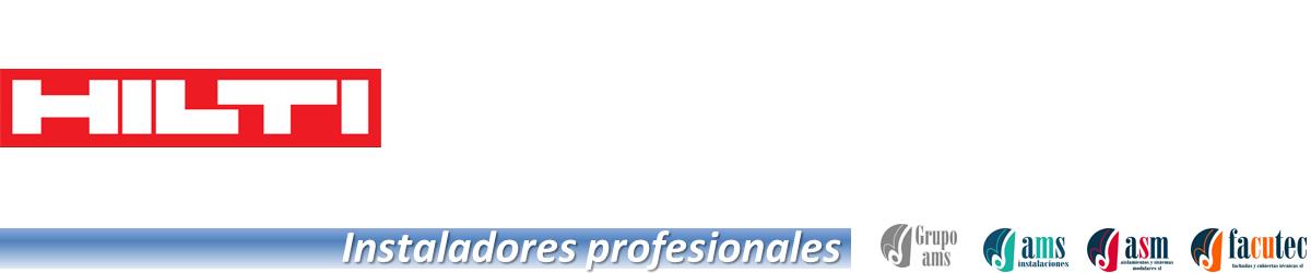 Instaladores profesionales de Hilti en España