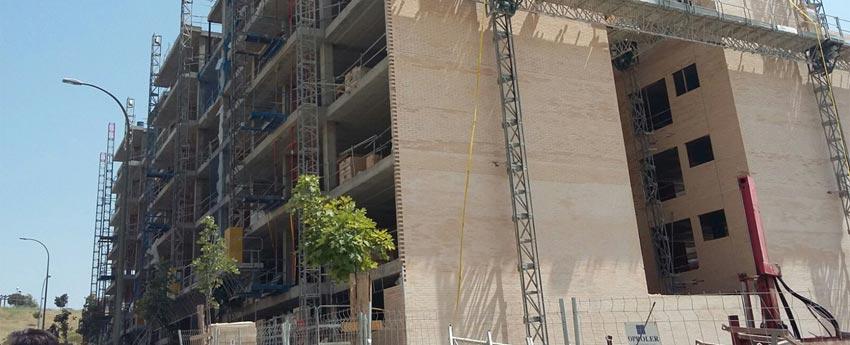 218 viviendas en Avda. Arroyo del Fresno en Madrid