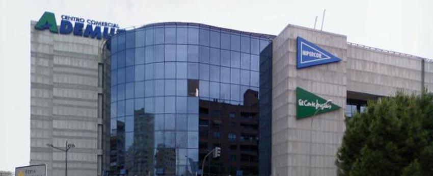 Centro Comercial Ademuz del Corte Inglés en Valencia