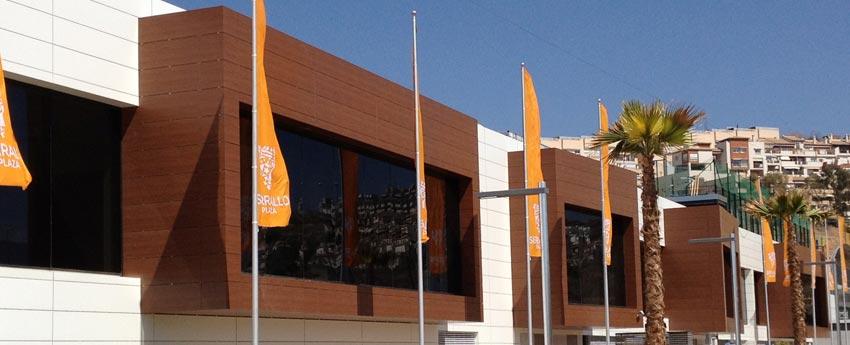 Centro comercial y cines Serrallo Plaza en Granada