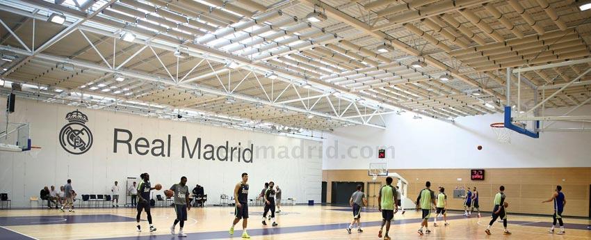 Acondicionamiento acústico en la Ciudad deportiva del Real Madrid