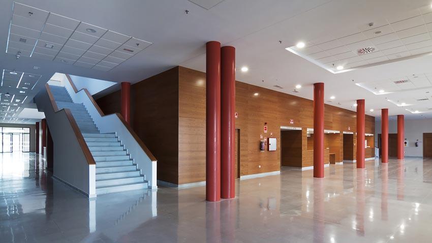Edificio de investigación y desarrollo en el Valme de Sevilla