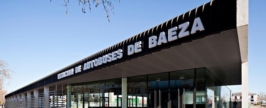 Estación de autobuses de Baeza en Jaén