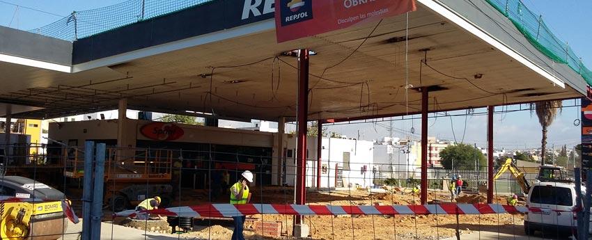 Estación de servicios Repsol de Alcalá de Guadaira en Sevilla