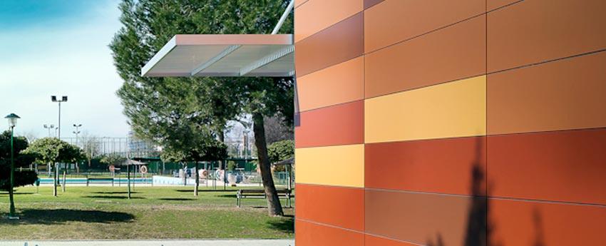 Instalaciones deportivas del Club Naútico de Sevilla