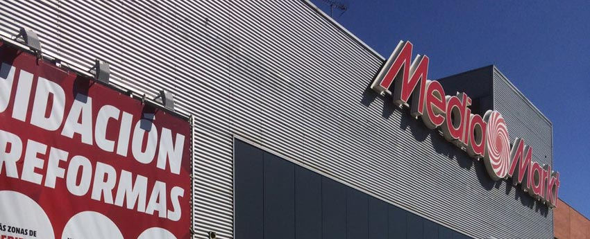 Centro comercial Mediamarkt en Villaverde