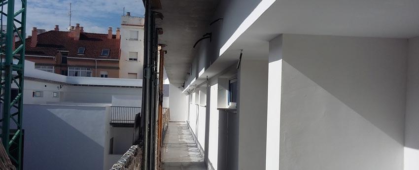 38 viviendas en calle Carril de Málaga