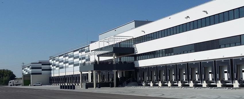 Centro logístico Supermercados Lidl en Alcalá de Henares