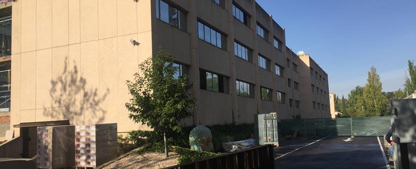 Edificio de oficinas en calle Gobleas de Madrid