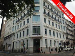 Edificio de oficinas en Paseo de Recoletos de Madrid