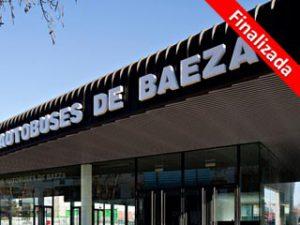 Estación de autobuses de Baeza