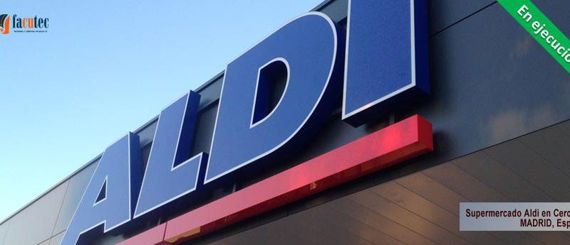 Supermercado Aldi en Cerceda
