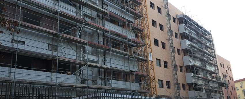 42 viviendas en calle Maimónides de Córdoba