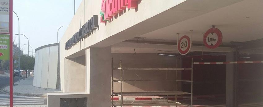 Centro comercial Alcampo en Sevilla