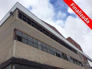 Edificio industrial Centro Motor en Madrid