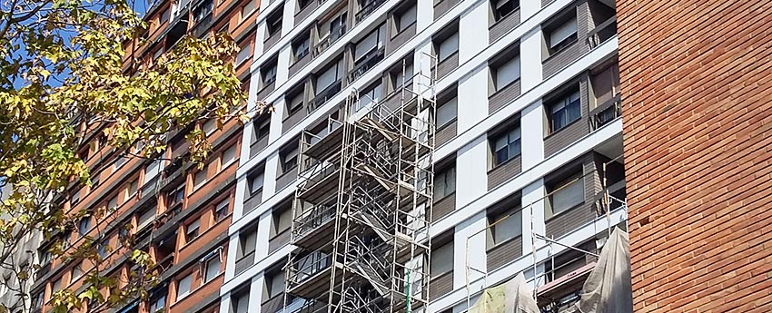 Rehabilitación de edificio en calle Autonomia de Bilbao