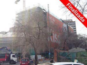 Rehabilitación del hotel Agustin de Foxa en Madrid